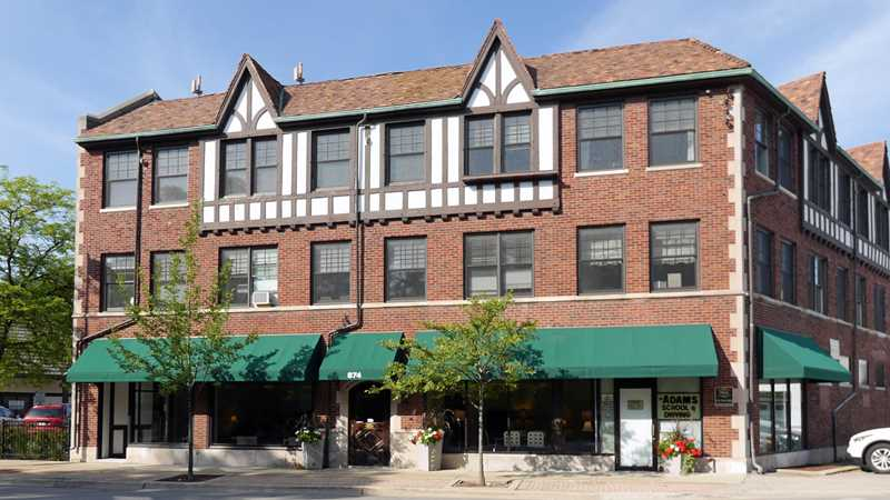 Renovated office space in Winnetka