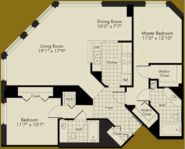 $1,950 rent conundrum – an Aqua convertible or a 2-bedroom, 2-bath across the street