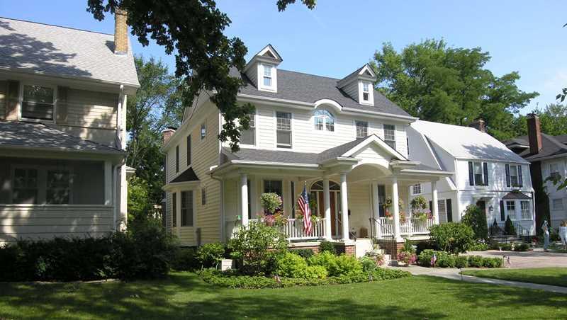 East Winnetka homes, Winnetka, IL