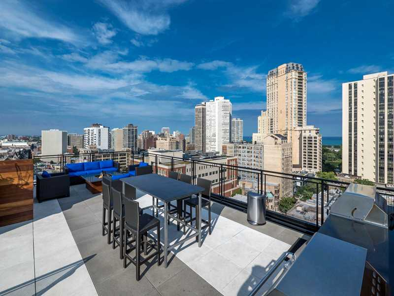 Tour a Lincoln Park convertible with a balcony, in-unit washer / dryer