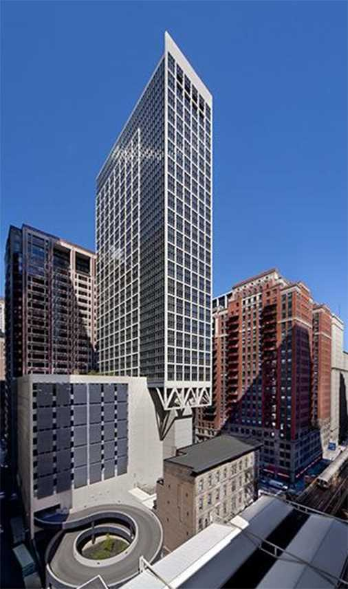 215 West apartments, 215 W Washington St, Loop