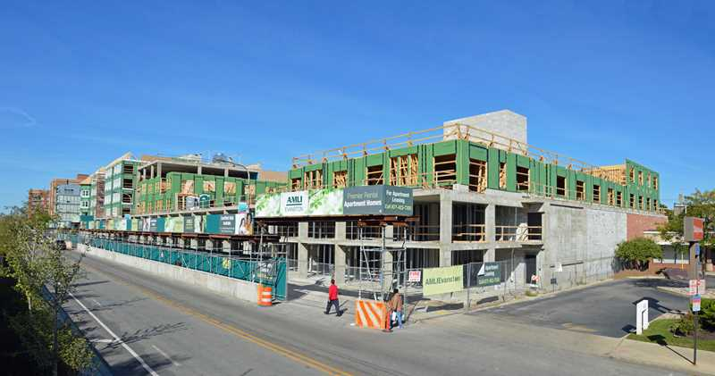 Construction update – new Evanston apartments