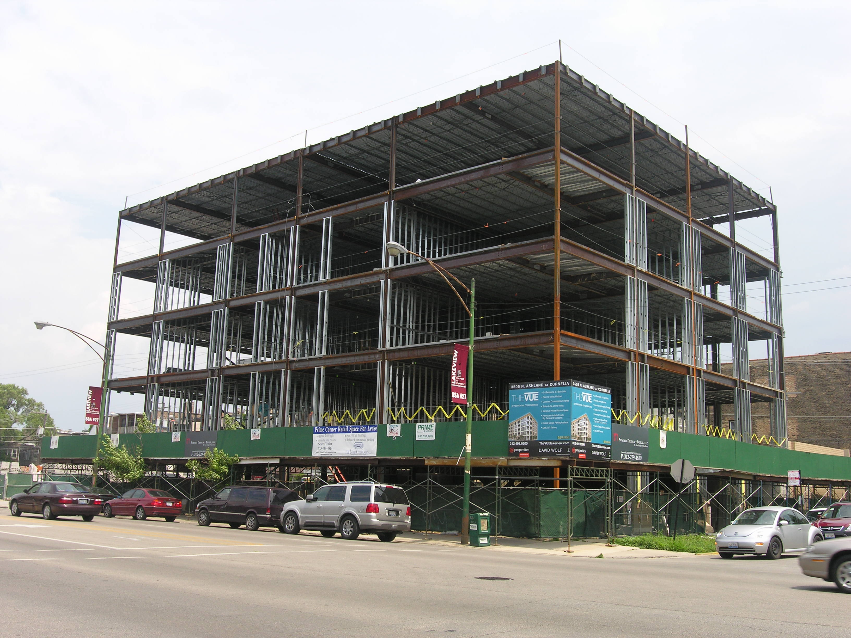 Works in progess: developments on Ashland in Lake View