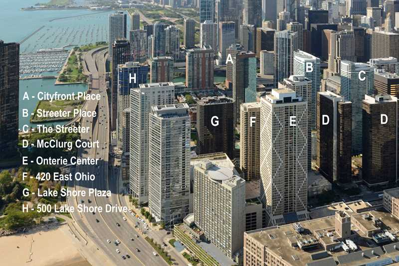 Streeterville's best apartments – Studio / convertible floor plan