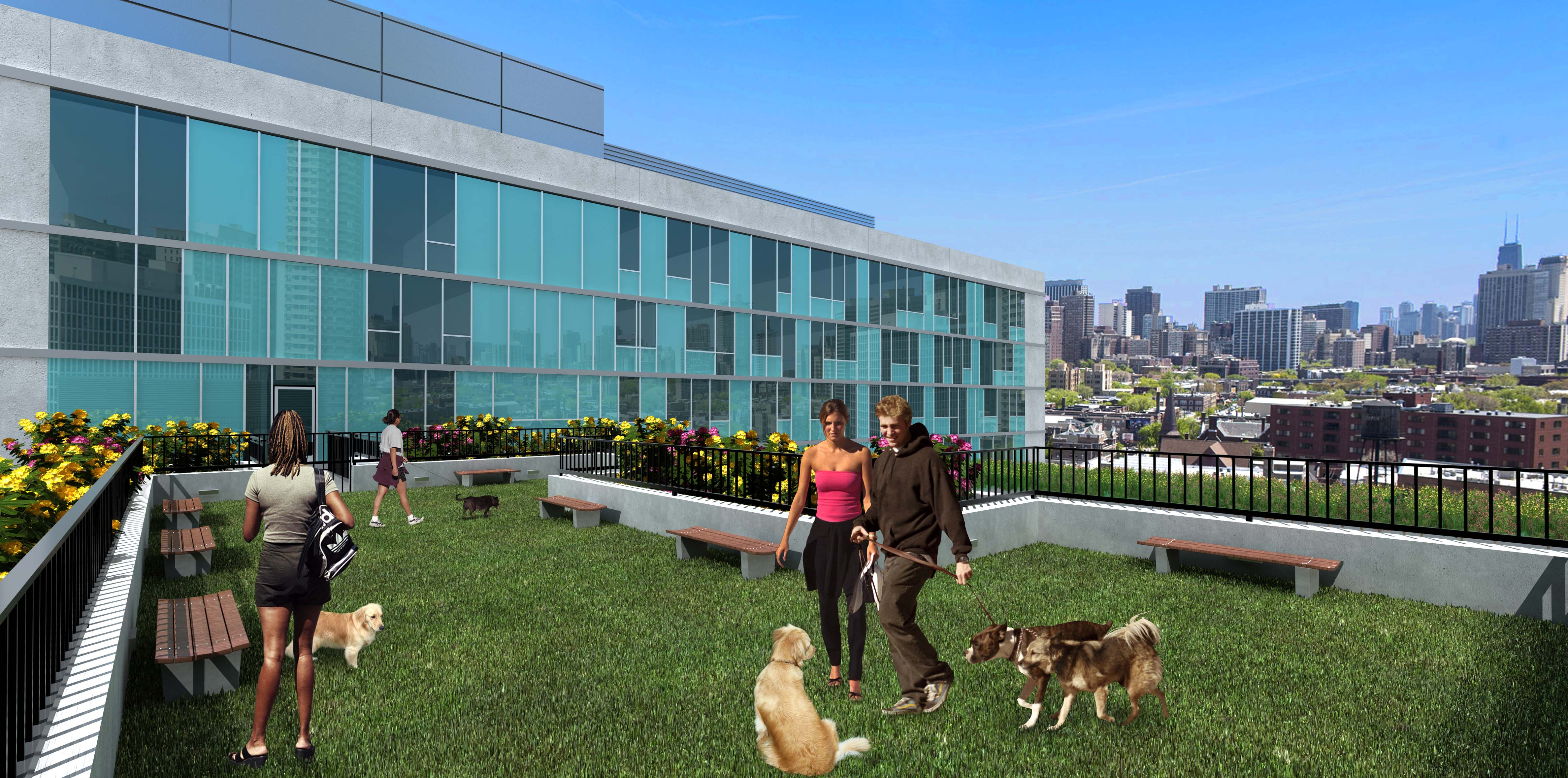 Lakeview S Halsted Flats Apartments Are Almost Move In