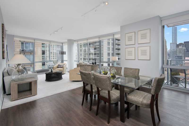 Two West Delaware has spacious apartments on the Gold Coast / River North border