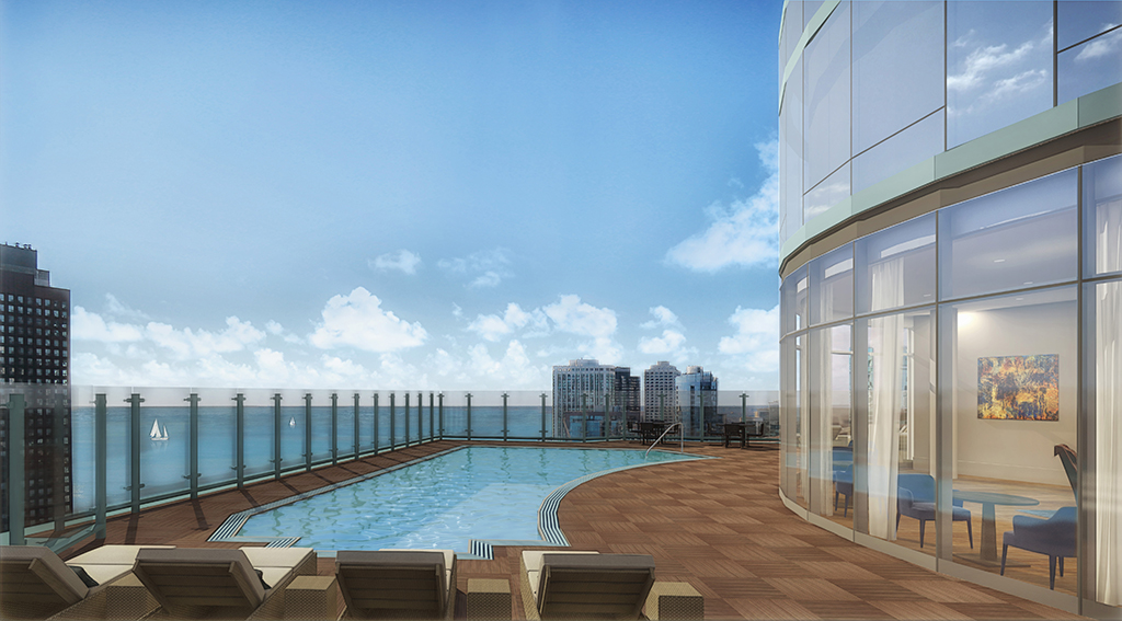 Tour the furnished models at streeterville s newest for Interior design staffing agency chicago