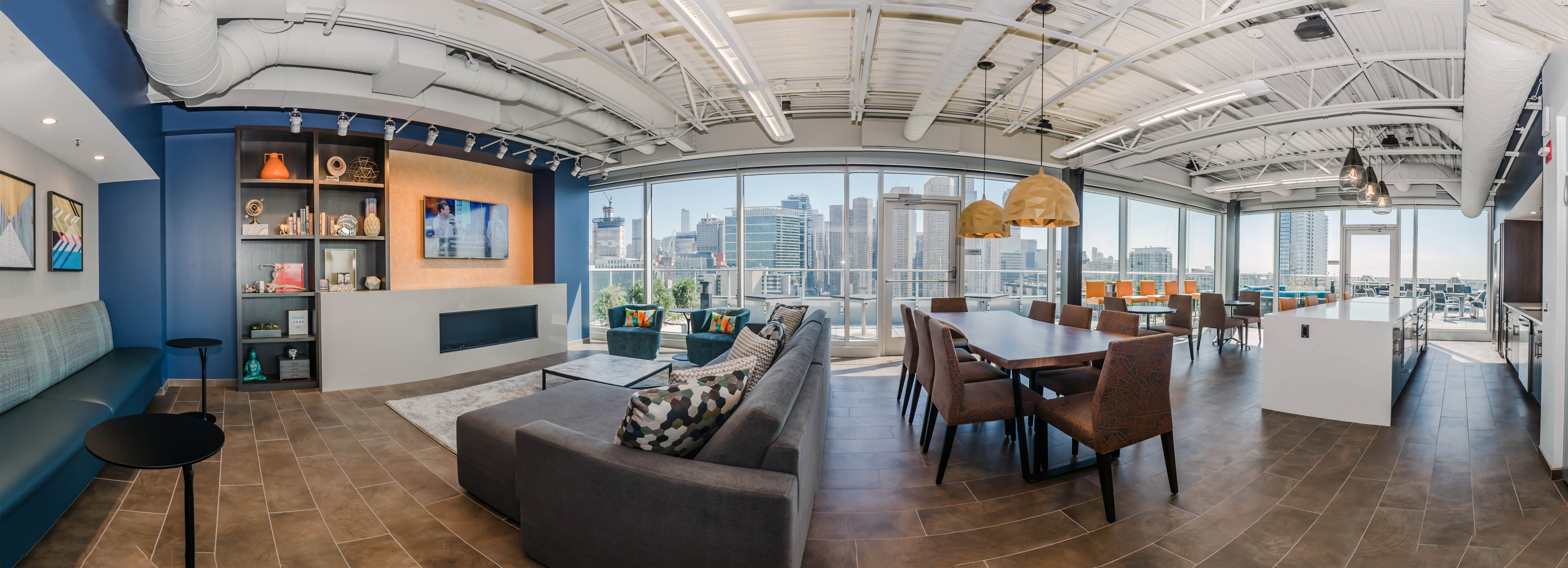 The Rooftop Resident Lounge