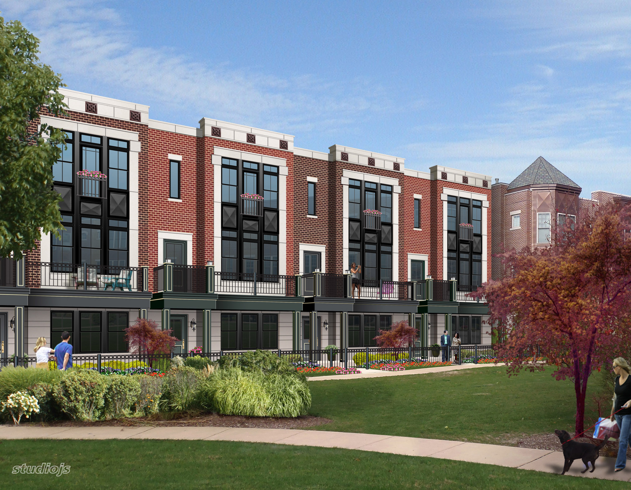New Townhomes Planned For Avondale Site Yochicago