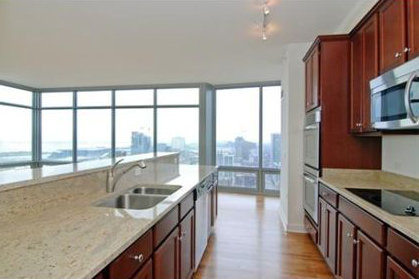 High Rise Apartment Inside today's news: buy or rent a corner condo with lake views at 1400