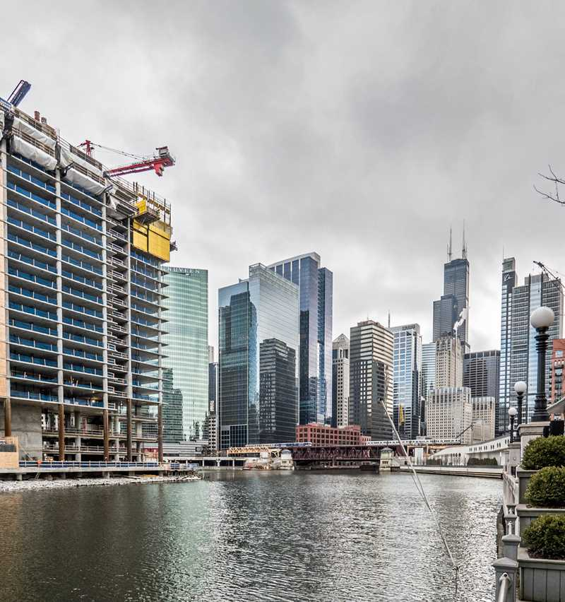 A Monday visit to the Wolf Point apartment site