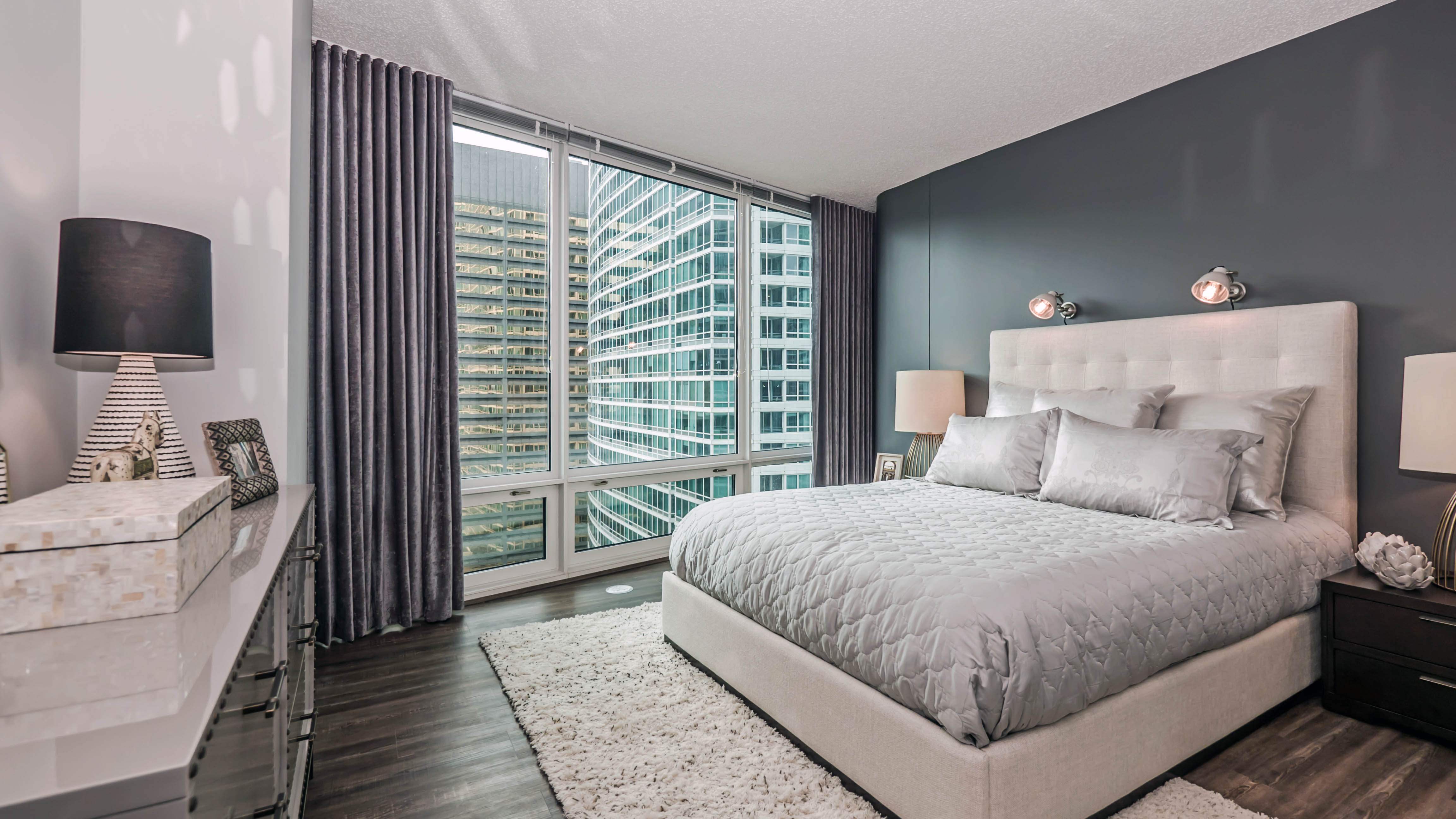 Model Bedroom Beauteous Tour A New 2Bedroom Model At Atwater In Streeterville  Yochicago Review