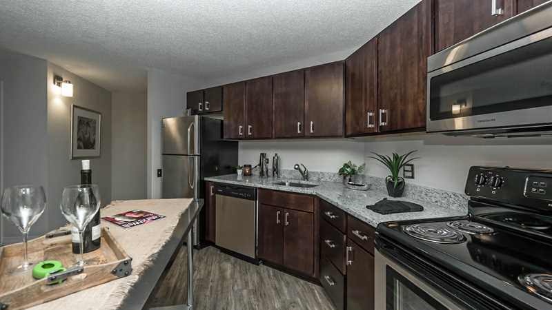 Free rent on renovated apartments at Chestnut Place