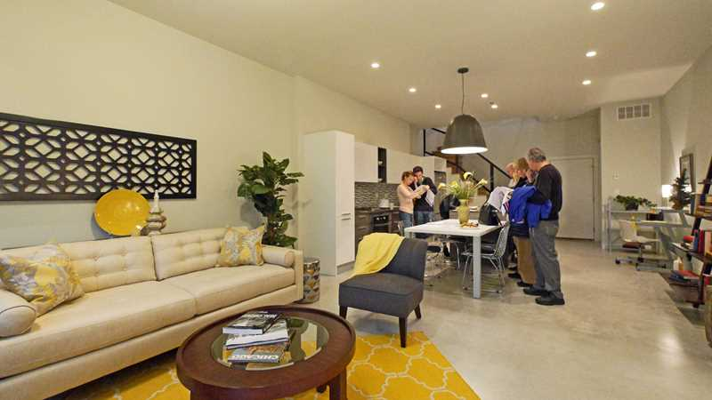 BackYard Andersonville rowhomes draw a crowd