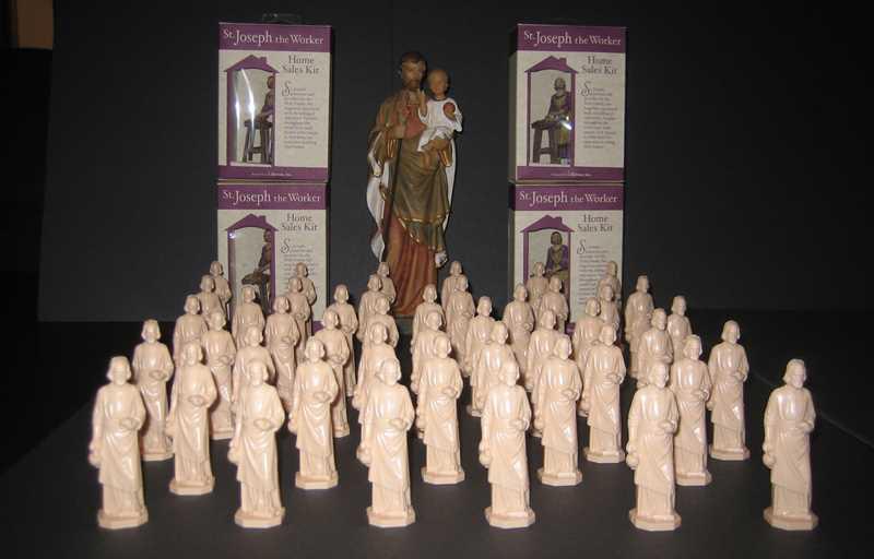 St Joseph statues