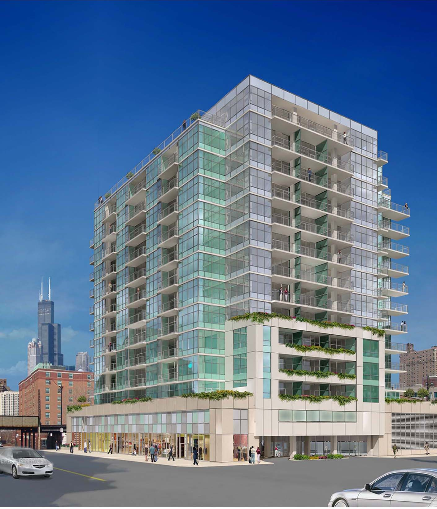 Sponsored post: Is 1555 Wabash the South Loop's biggest celebrity?