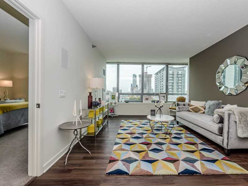 A wide selection of Fulton River District one-bedrooms