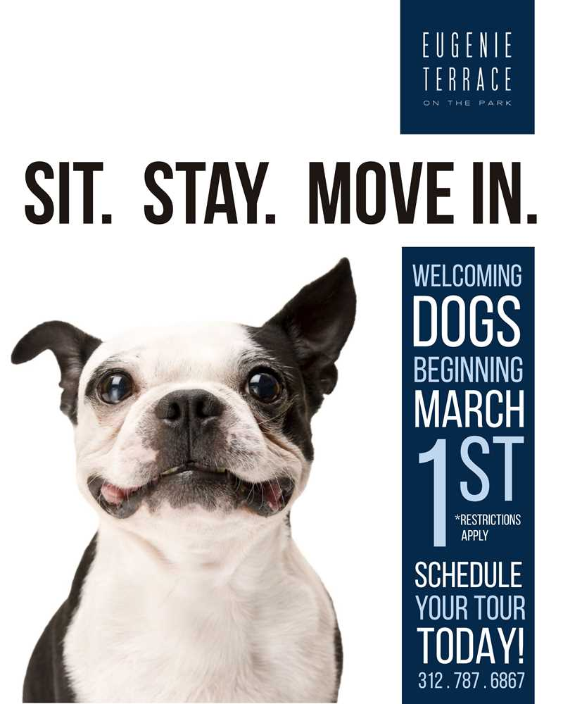 Lincoln Park's Eugenie Terrace apartments becoming dog-friendly