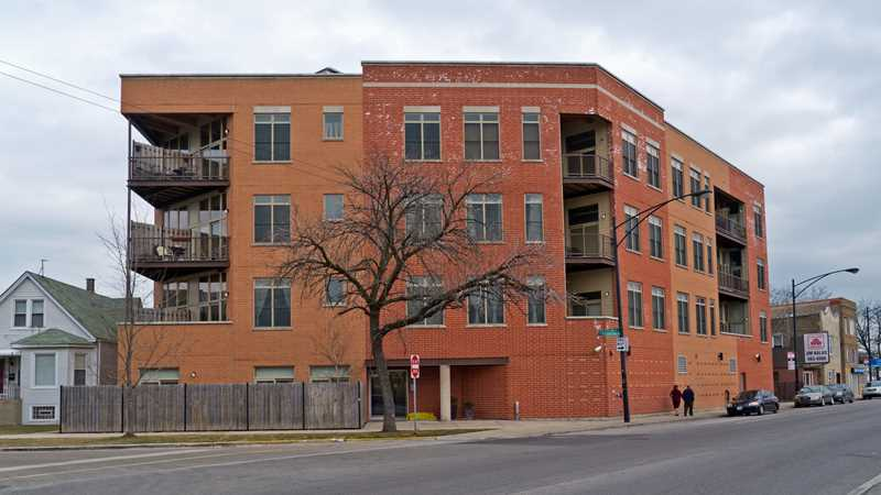 An updated look at Elston Timber Lofts in Irving Park