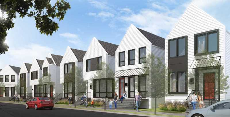 Forty-eight single-family homes headed for Old Irving Park