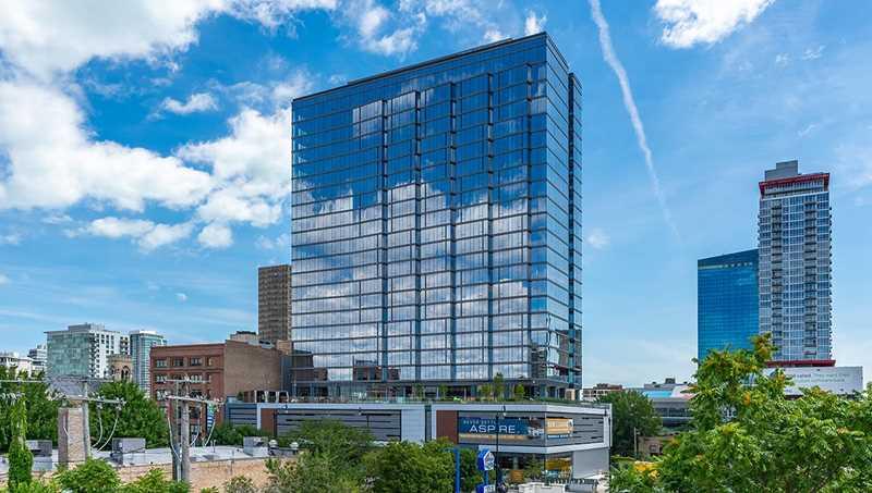 Aspire apartments, 2111 S Wabash, South Loop