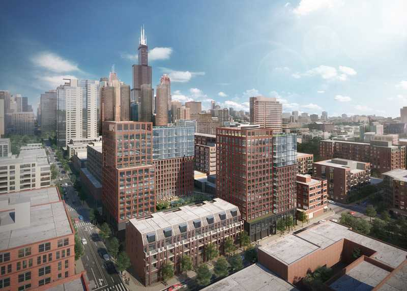 High-style West Loop apartments with extensive amenities at the new Union West