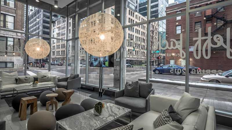 Jeff Jack model apartments open in the West Loop