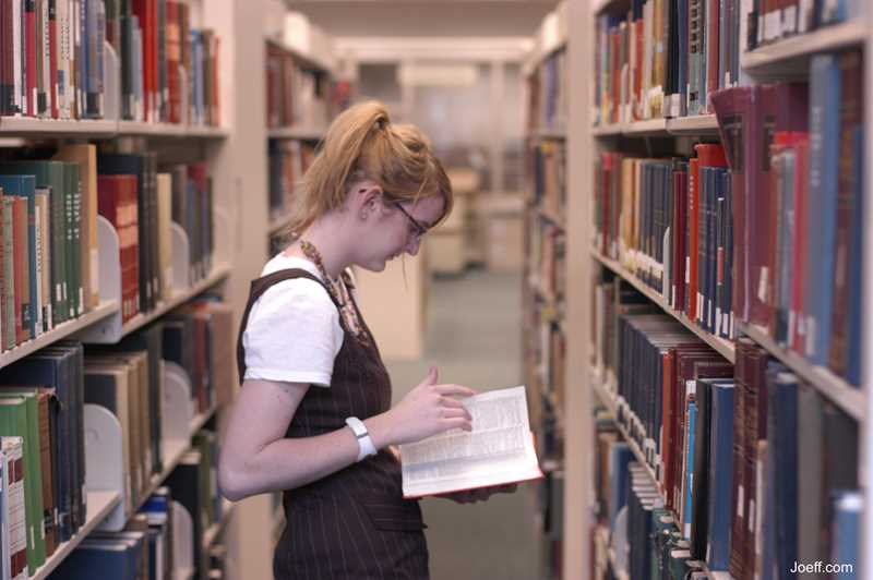 DePaul Library, Joeff Davis photo, Chicago, IL