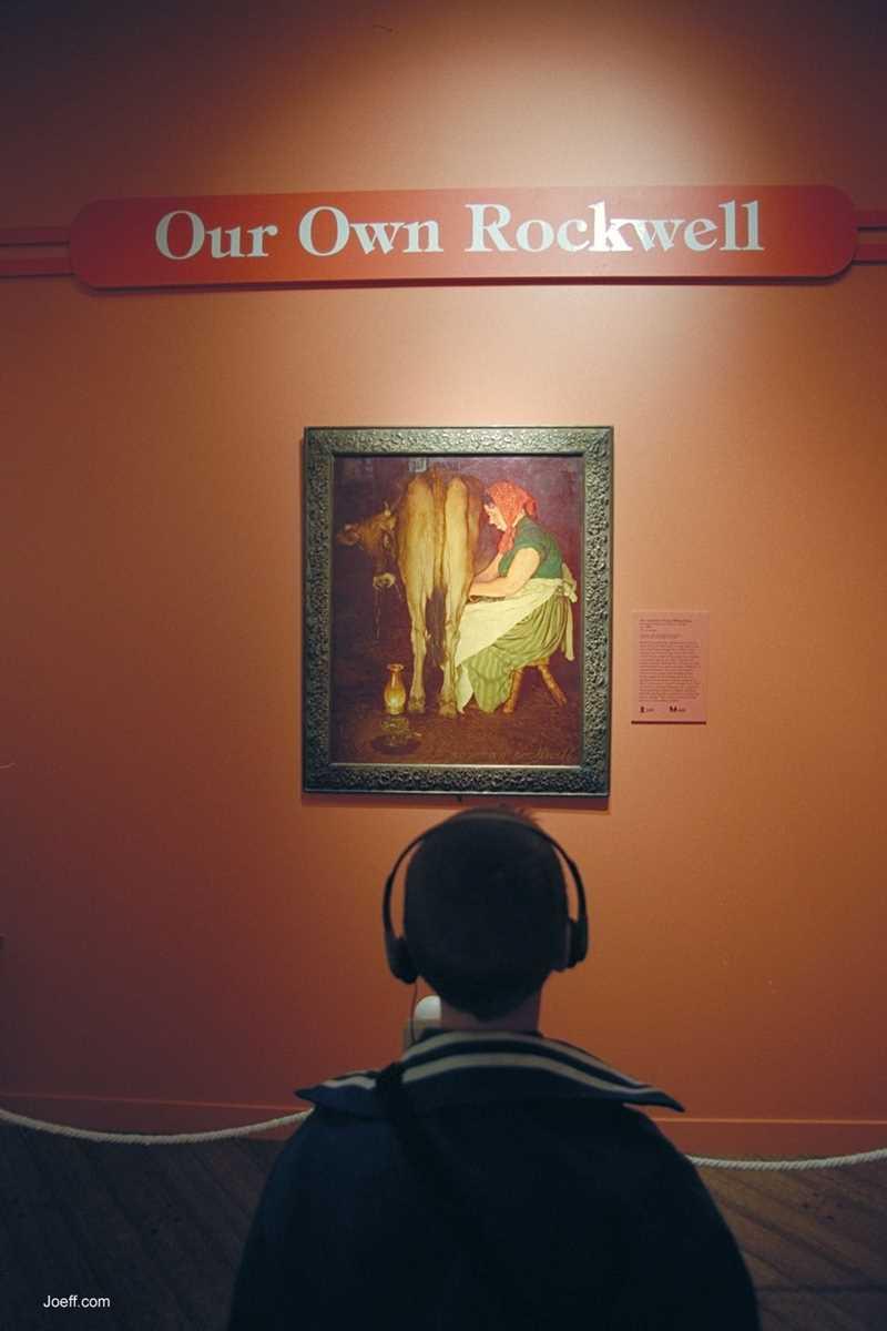 Norman Rockwell, Joeff Davis photo, Chicago, IL