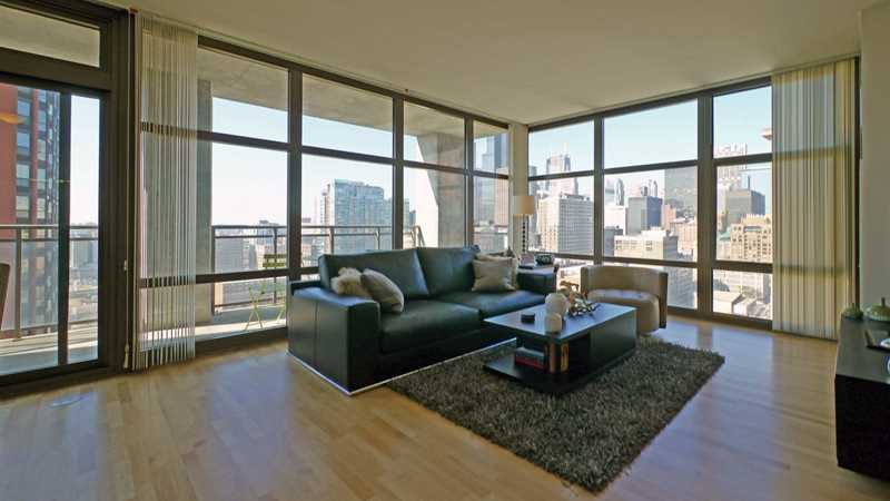 A corner two-bedroom with a great balcony at Astoria Tower