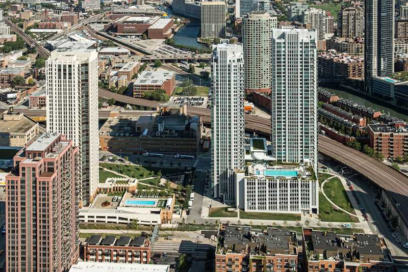 Alta apartments, 555 W Kinzie St, Fulton River District