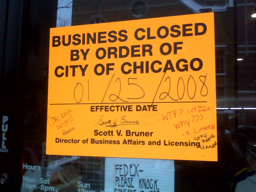 Mystery solved at shuttered Lincoln Park retail outlet