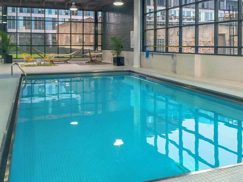 Pool, 777 South State, Chicago