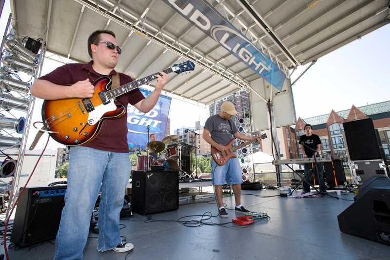 The fifth annual Bash on Wabash was held in September 2007 on Wabash Avenue between 13th and 15th streets.