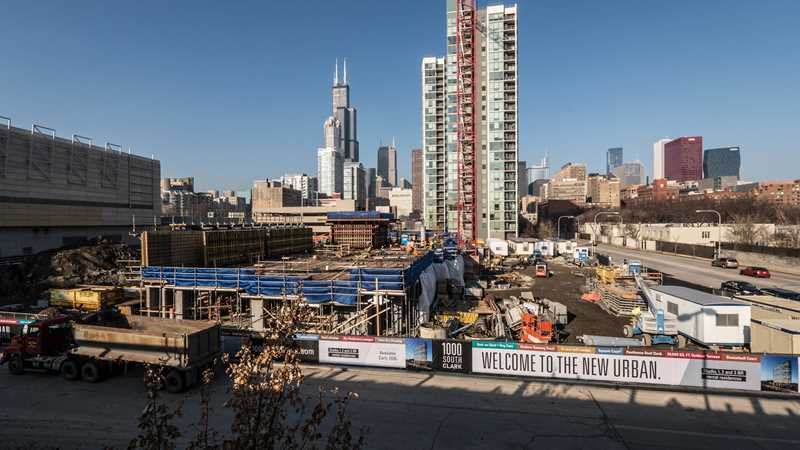 A random look at new downtown apartment construction