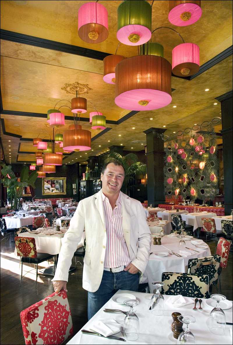 Restaurateur Jerry Kleiner, a driving force in pioneering the West Loop's restaurant row on Randolph, shows off his latest South Loop restaurant, Room 21, 2110 S. Wabash Ave.