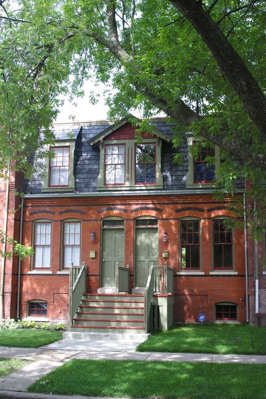 Historic Pullman homes