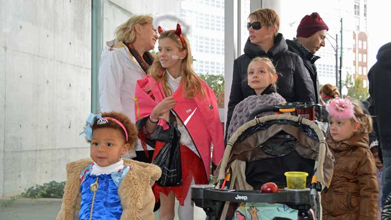 A River North Halloween at Ward Park