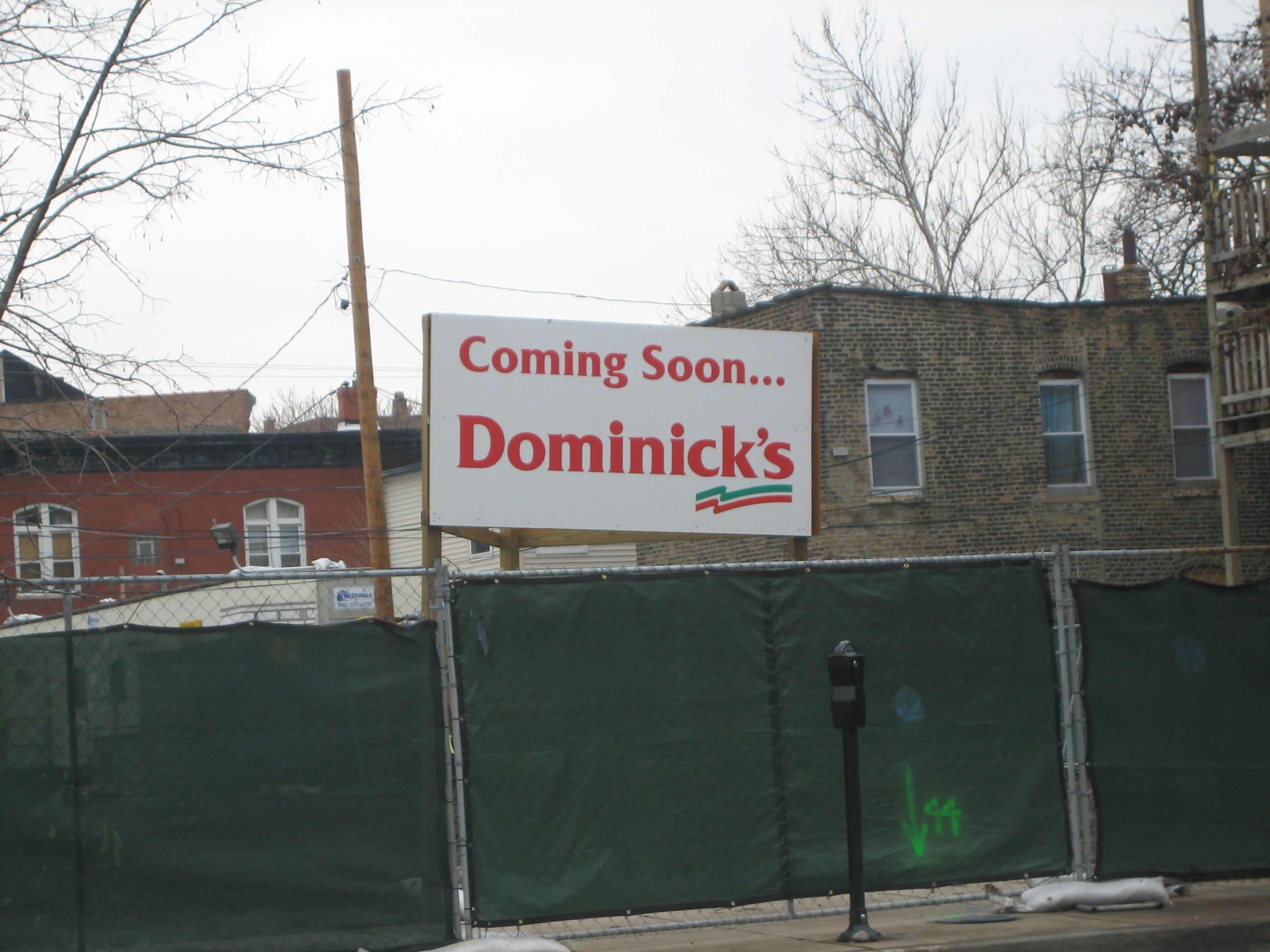 Dominick's almost ready to dominate Chicago Avenue in West Town