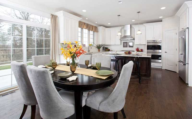 New furnished model, seven new designs at Woodleaf in Kildeer
