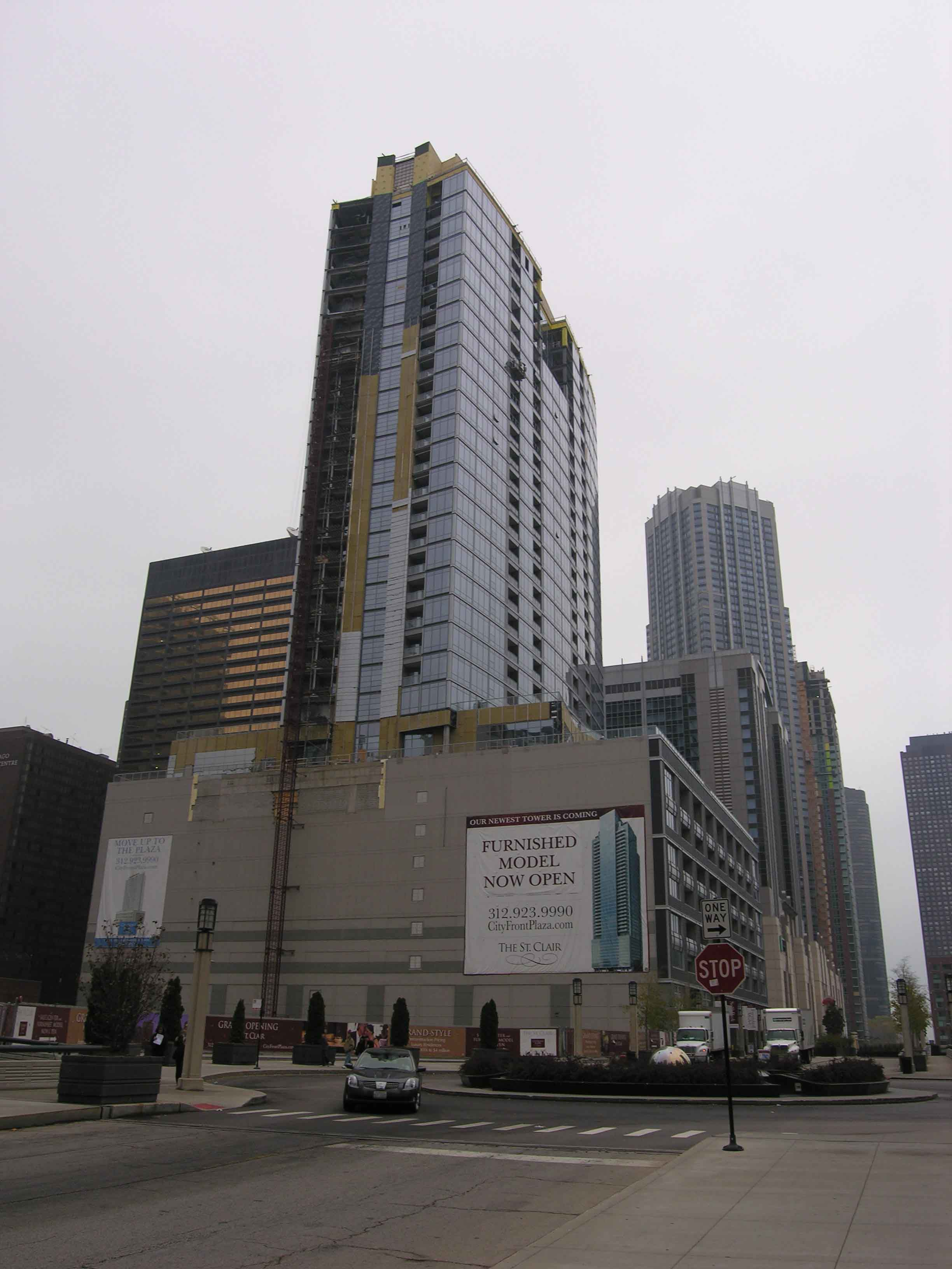 Construction update: The Fairbanks at Cityfront Plaza nearing completion