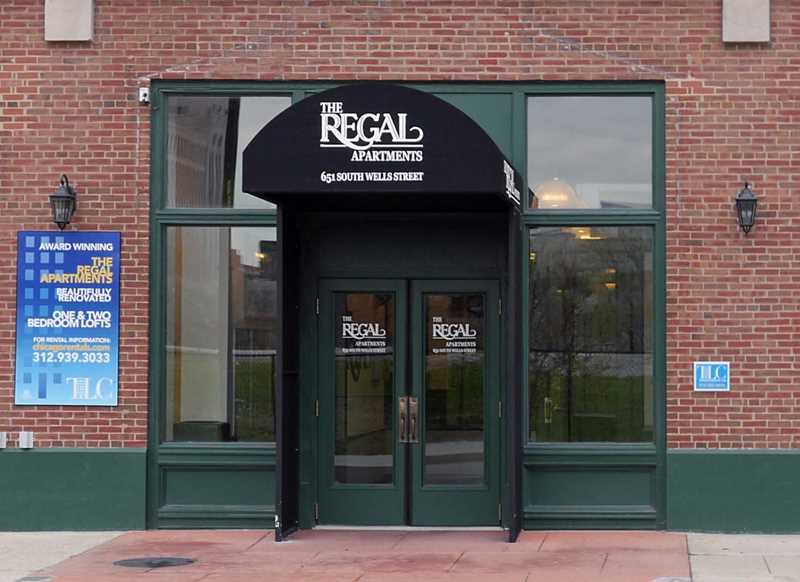 The Regal apartments, 651 S Wells St, South Loop