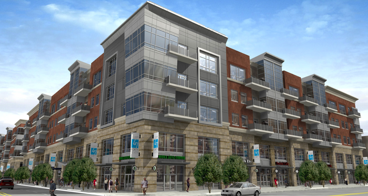Mixed-use Shops and Lofts in Grand Boulevard to feature 140 new apartments