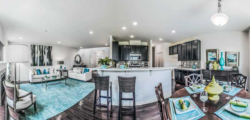 Pleasant surprises at Lexington Oaks townhomes in Palatine