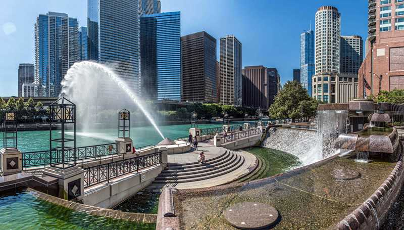 River Esplanade Park, Chicago