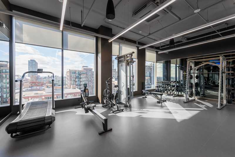 Fitness Center, The Van Buren, Chicago