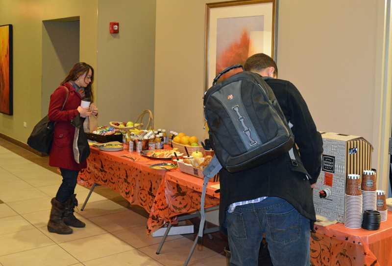Halloween breakfast treats at the South Loop's Astoria Tower