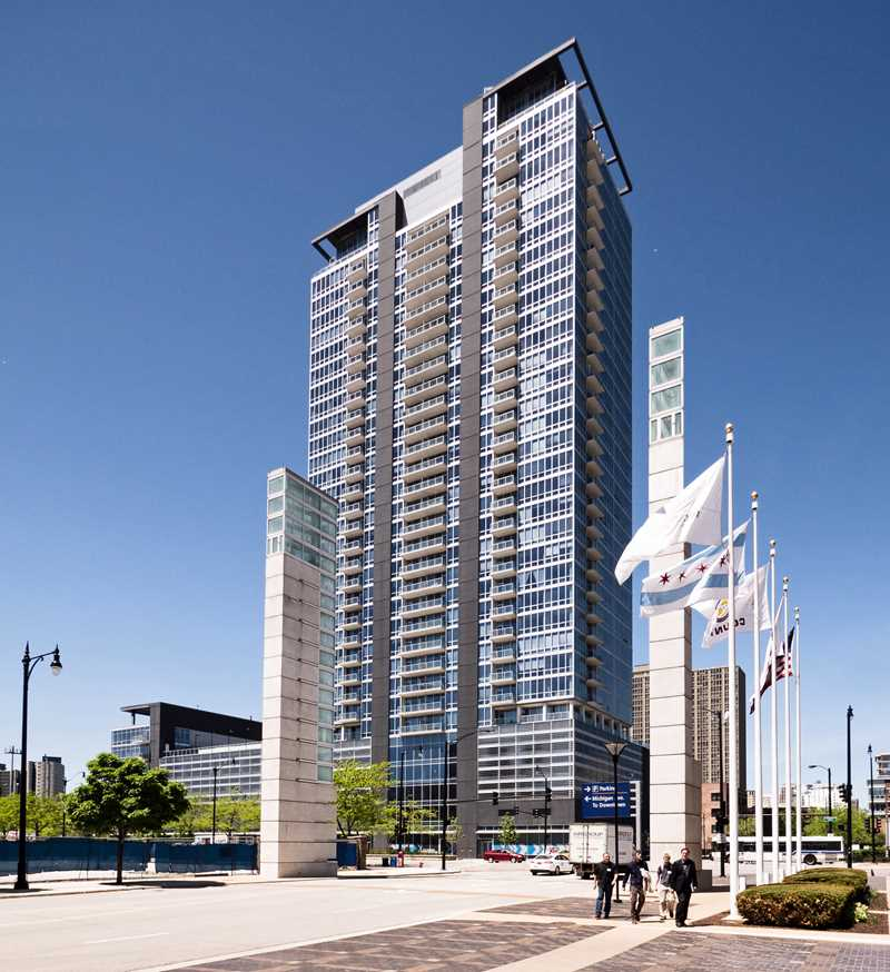 South Loop penthouse apartments available