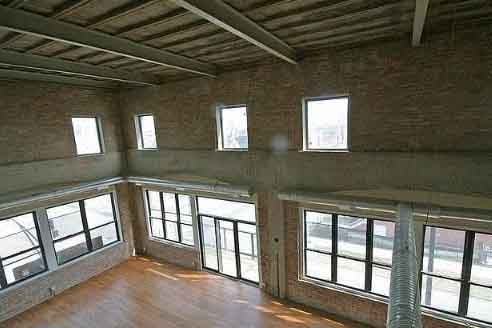 Loft development at 6300 S Woodlawn Ave in Woodlawn, Chicago