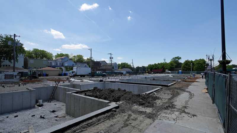 Construction underway on 30 North Center condos